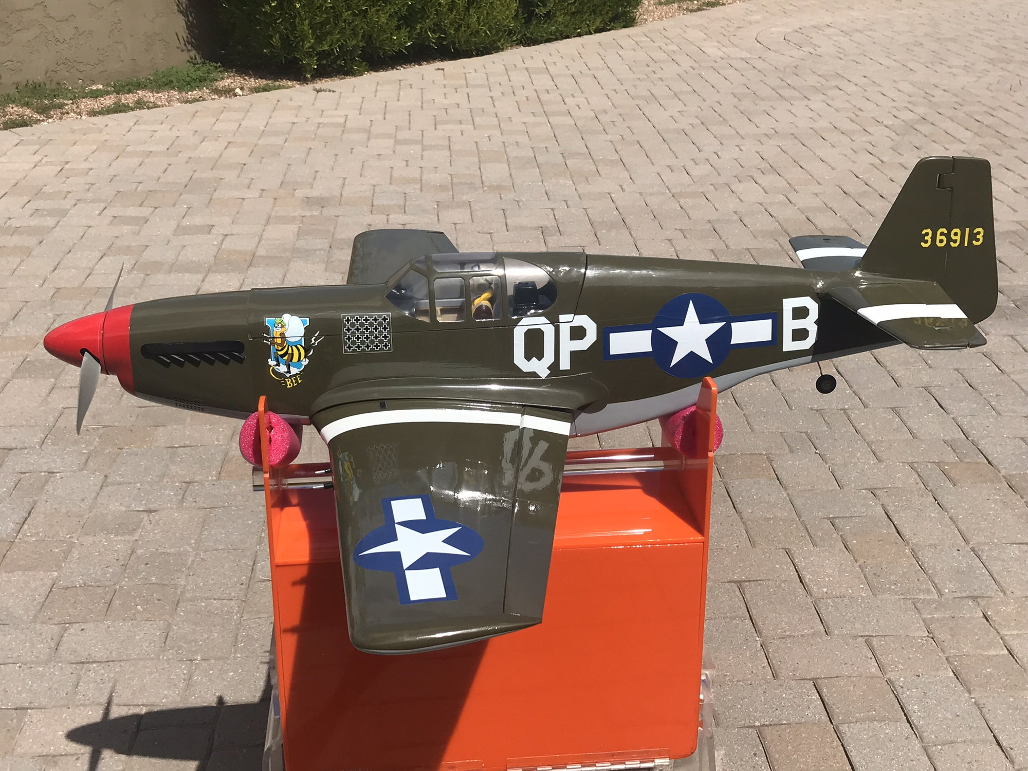 Electric P51B Mustang 32E ARF P51 P-51 E-Flite - RCU Forums