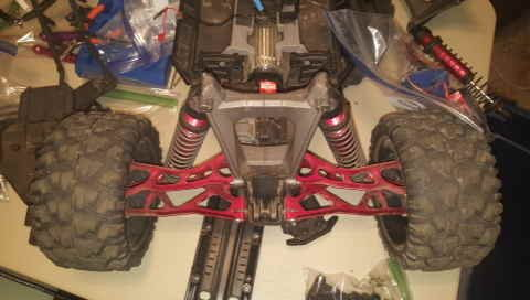 Traxxas X-MAXX 1/6 scale 4x4 RC monster truck parts for sale