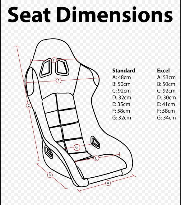 List Of Seats That Fit And Dont Fit