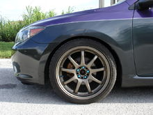 Lowered on JIC coilovers:wearing WORK Emotion xD9