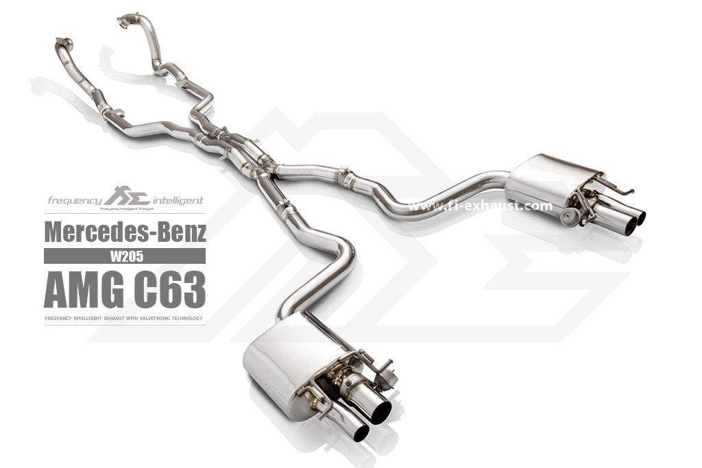 Fi Exhaust l Mercedes-Benz W205 C63 AMG l Valvetronic System