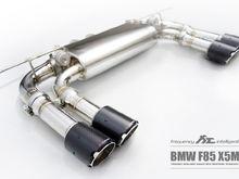 Fi Exhaust for BMW F85 X5M – Valvetronic Muffler.