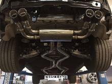 BMW F85 X5M x Fi Exhaust – other side.
