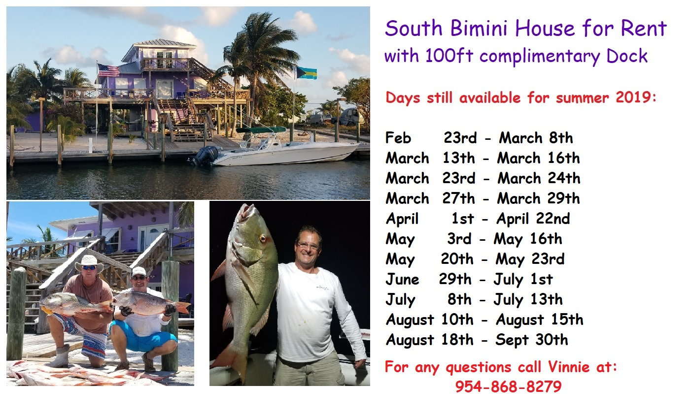 Bimini house w/dock for rent 100 ft - Page 12 - The Hull Truth