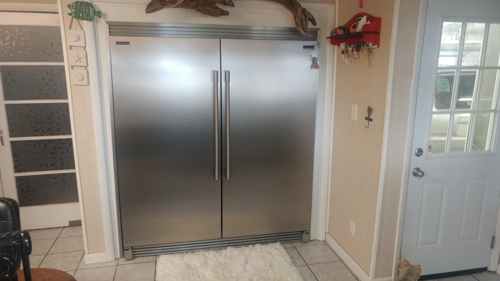 Frigidaire Side By Side Refrigerator Freezer Doors