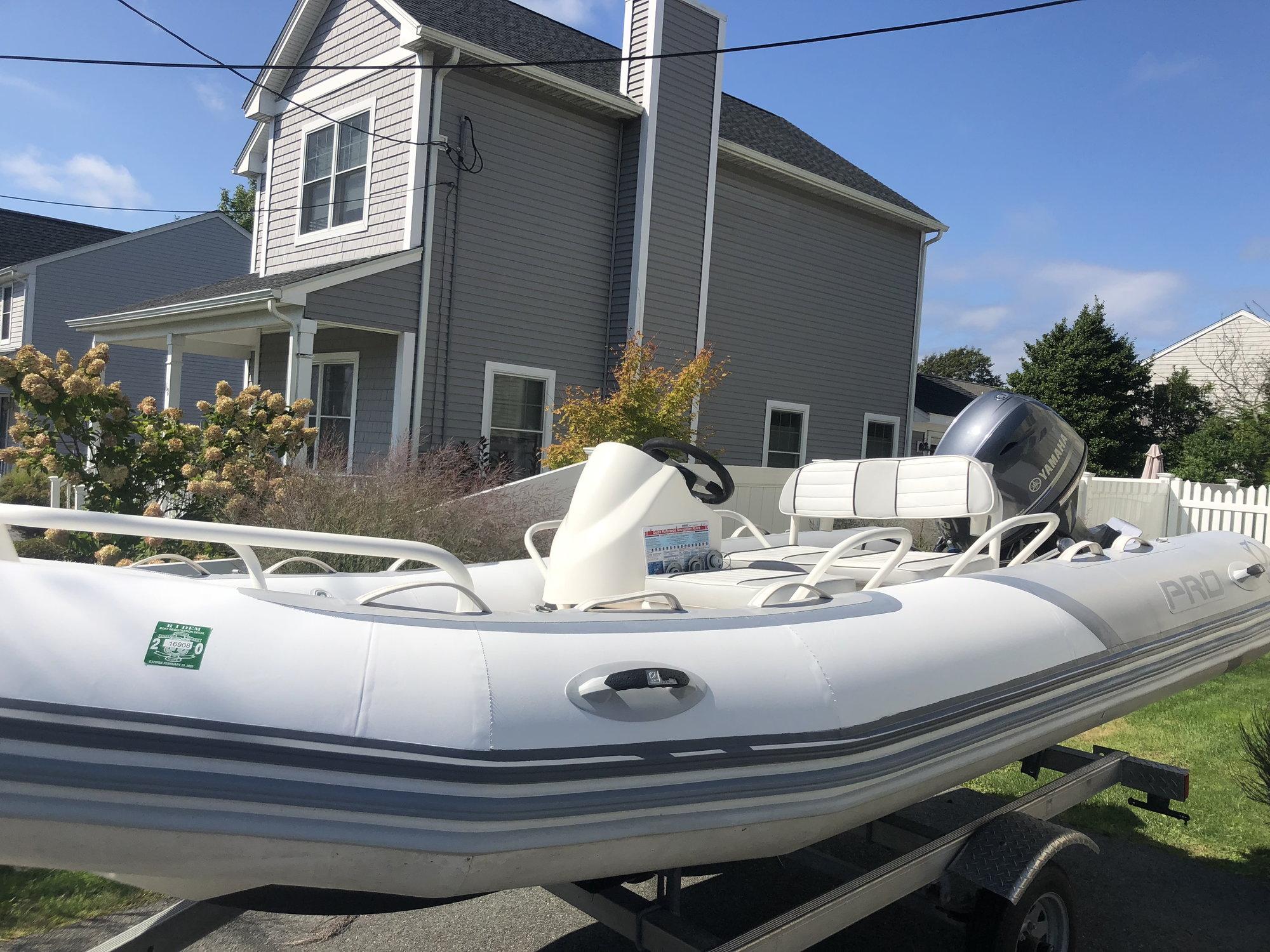 Like New 2106 Zodiac Bayrunner 500 Pro - $19,900  Newport RI - The
