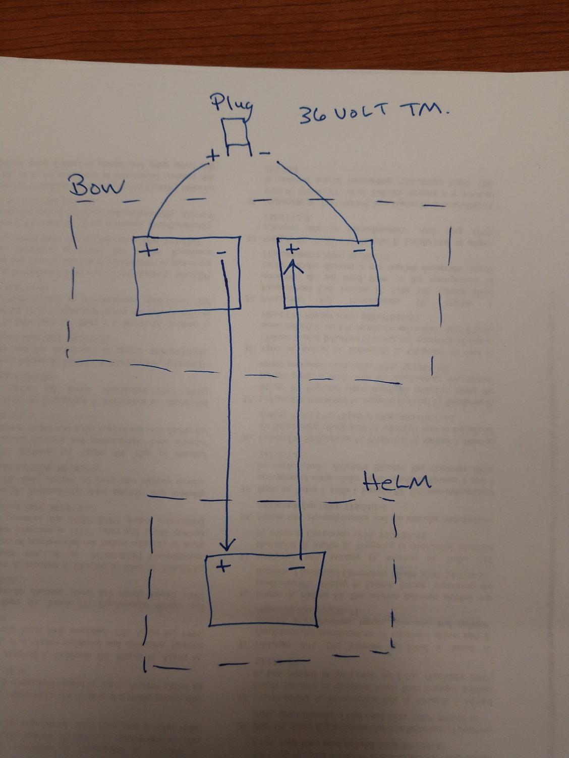 Wiring Batteries For Trolling Motor