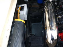 Onboard 3 bank battery charger new this past winter