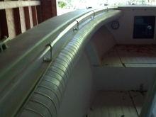 New powder coated rails