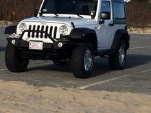 Jeep at Hardings