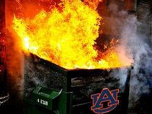 AU dumpster fire