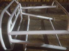 Birdsall leaning post in awlgrip white