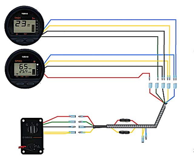 wiring yamaha gauges - the hull truth - boating and fishing forum  the hull truth