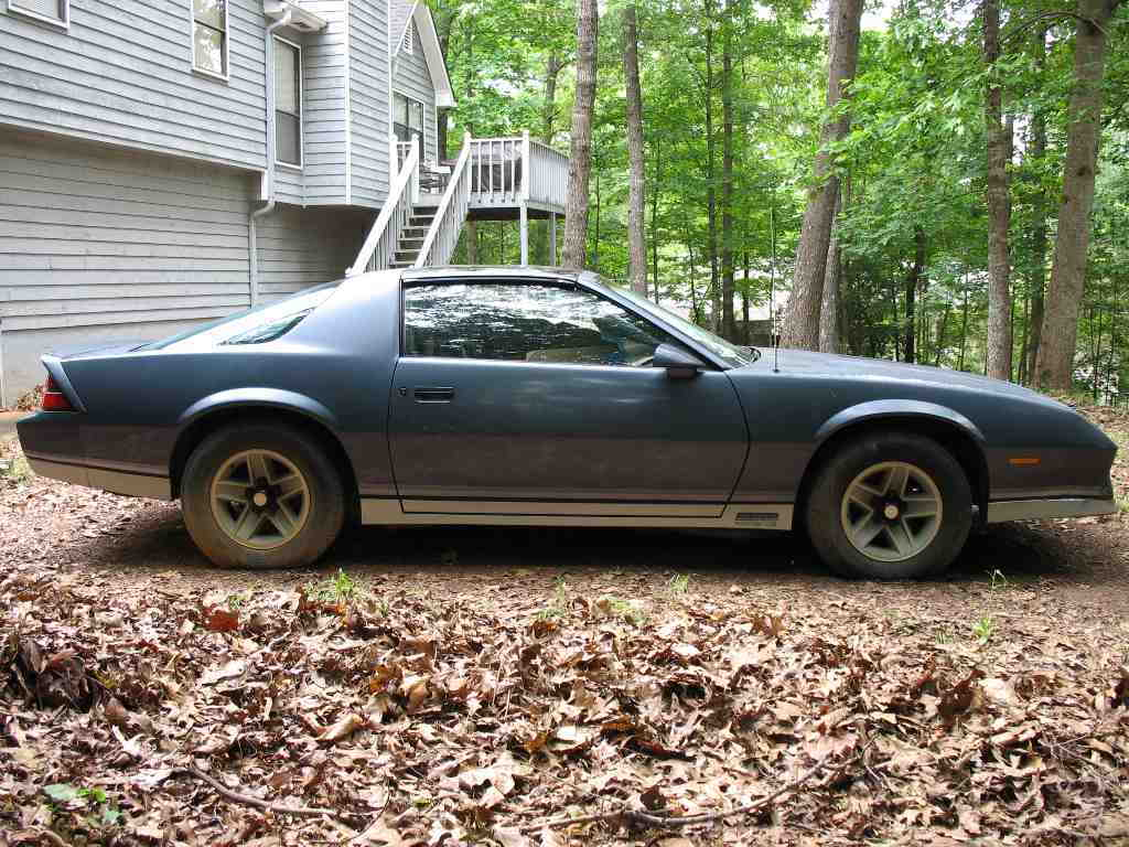 Georgia Sold 1984 Z28 Project Car For Sale Third