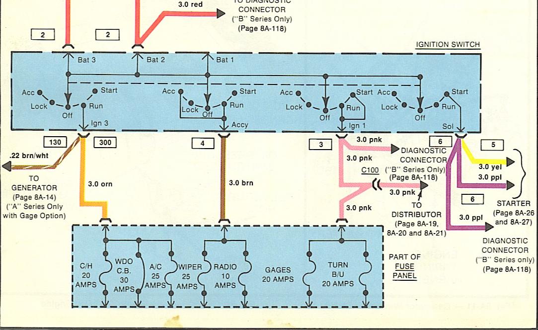 34 Chevy 350 Hei Distributor Wiring Diagram