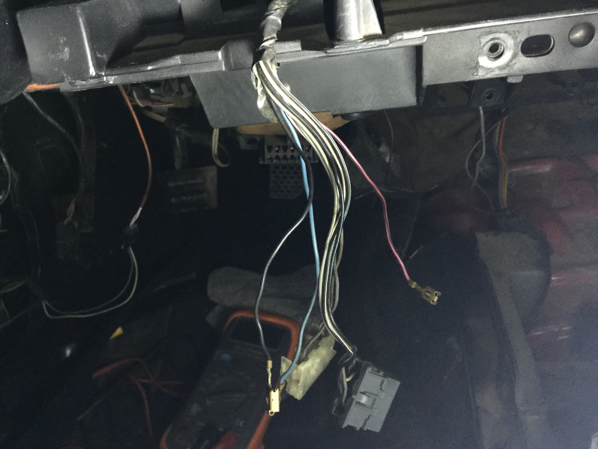 Unplugged harness under dash? - Third Generation F- Message Boards on battery harness, engine harness, nakamichi harness, electrical harness, suspension harness, maxi-seal harness, radio harness, safety harness, cable harness, alpine stereo harness, pony harness, dog harness, fall protection harness, pet harness, amp bypass harness, oxygen sensor extension harness, obd0 to obd1 conversion harness,