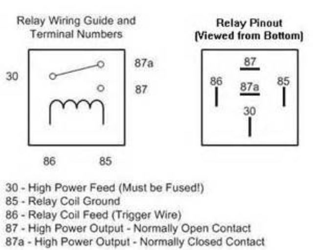 electric fan relay wiring diagram for 86 trans am electric fan wiring help 7730 ecm - third generation f ...