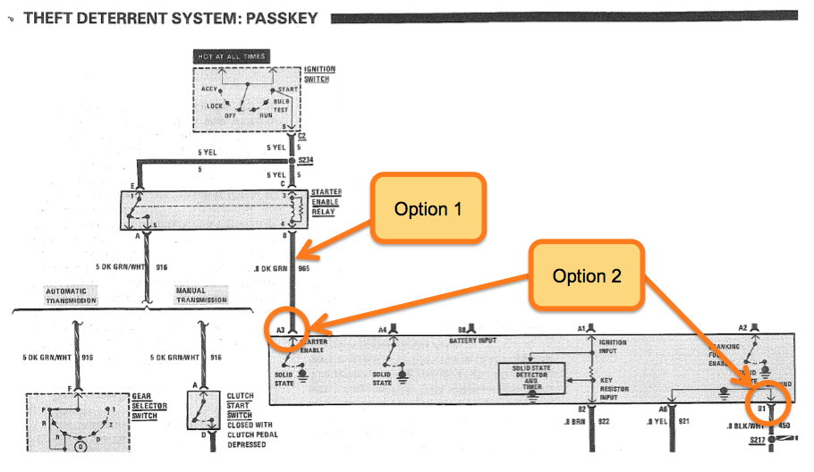 Tech: How to bypass VATS - Third Generation F-Body Message Boards passkey 3 wiring diagram ThirdGen.Org