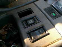 Voltage is fine. I jumped the blue and green wires from the rear wiper motor and now the window rolls up and down. Will get another lock button at the junk yard and try that unles someone has any ideas.