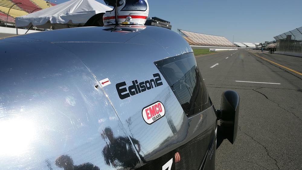 Edison2 Very Light Car, Progressive Automotive X-Prize winner.