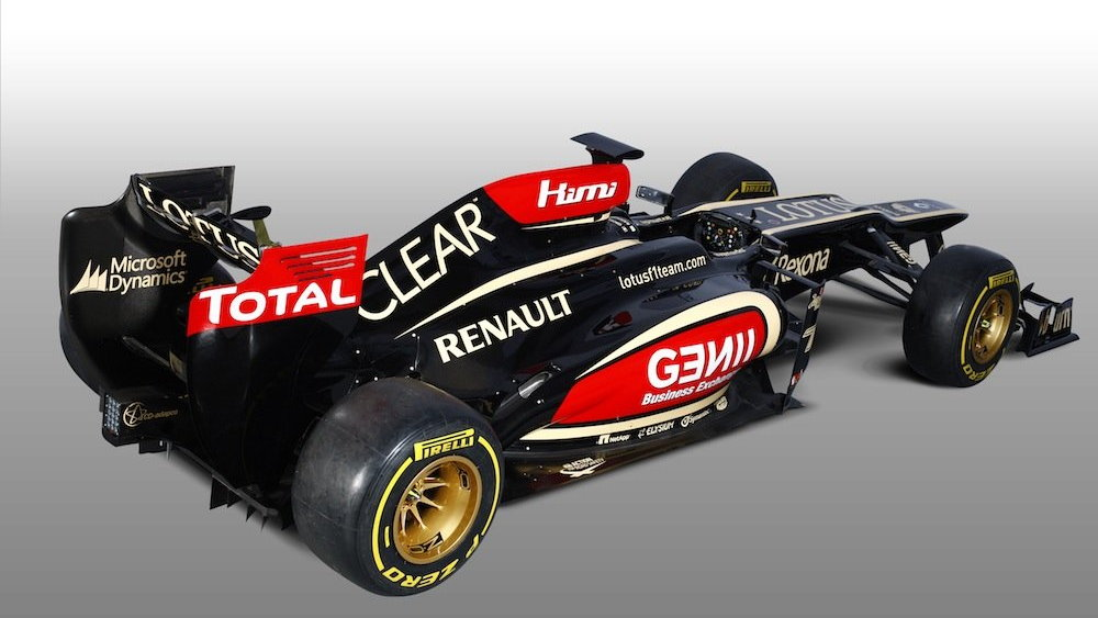 Lotus F1 reveals the E21 chassis for the 2013 F1 season - image: Lotus F1