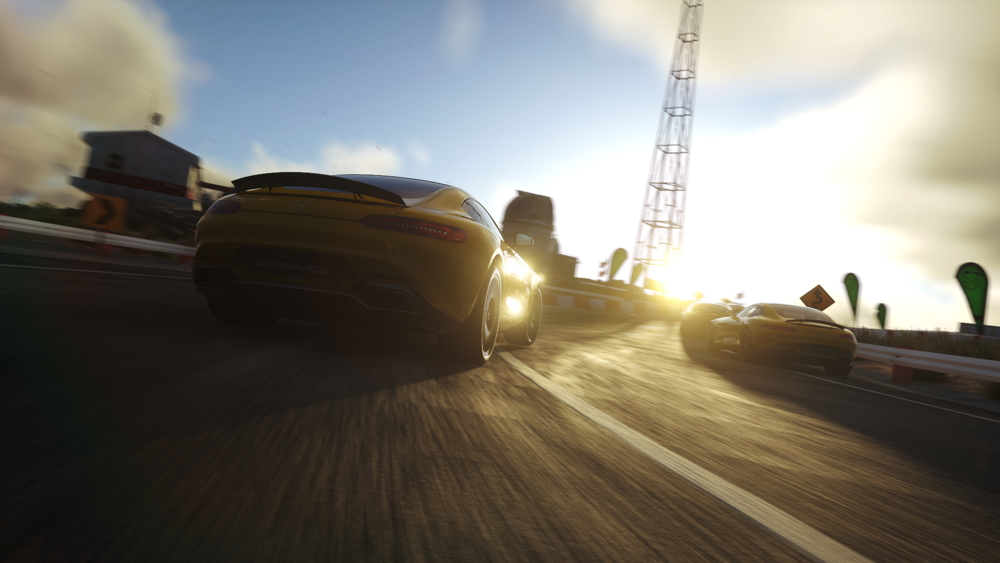 2016 Mercedes-AMG GT Driveclub teaser