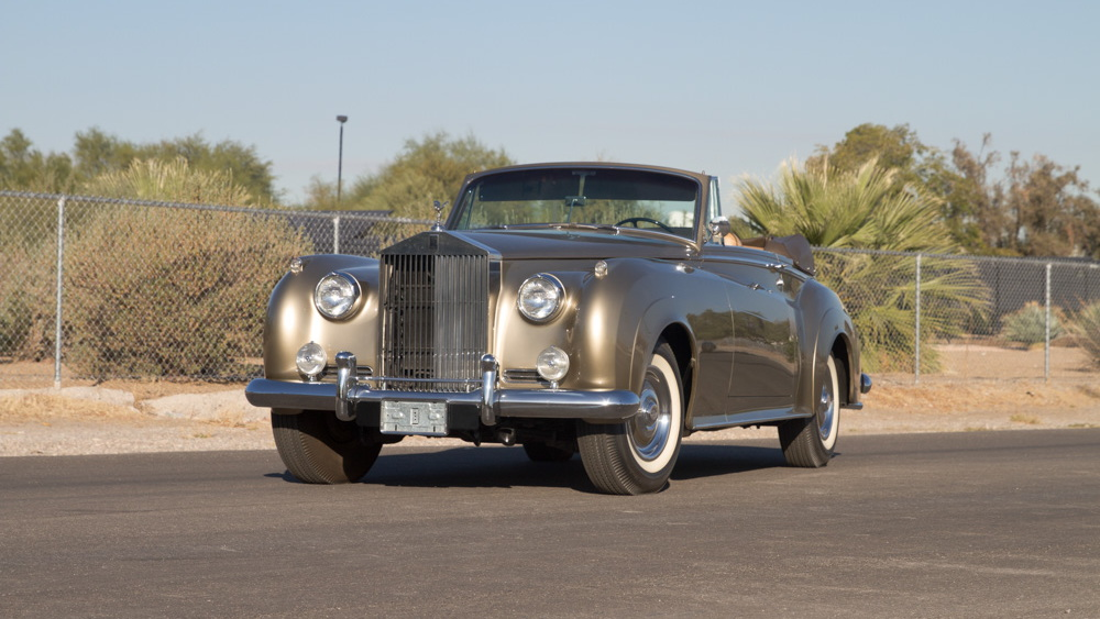 1962 Rolls-Royce Mulliner Drophead Coupe from the Rogers' Classic Car Museum collection