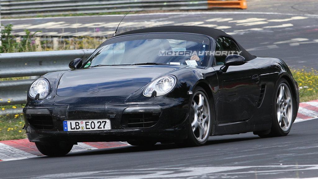 2012 Porsche Boxster spy shots