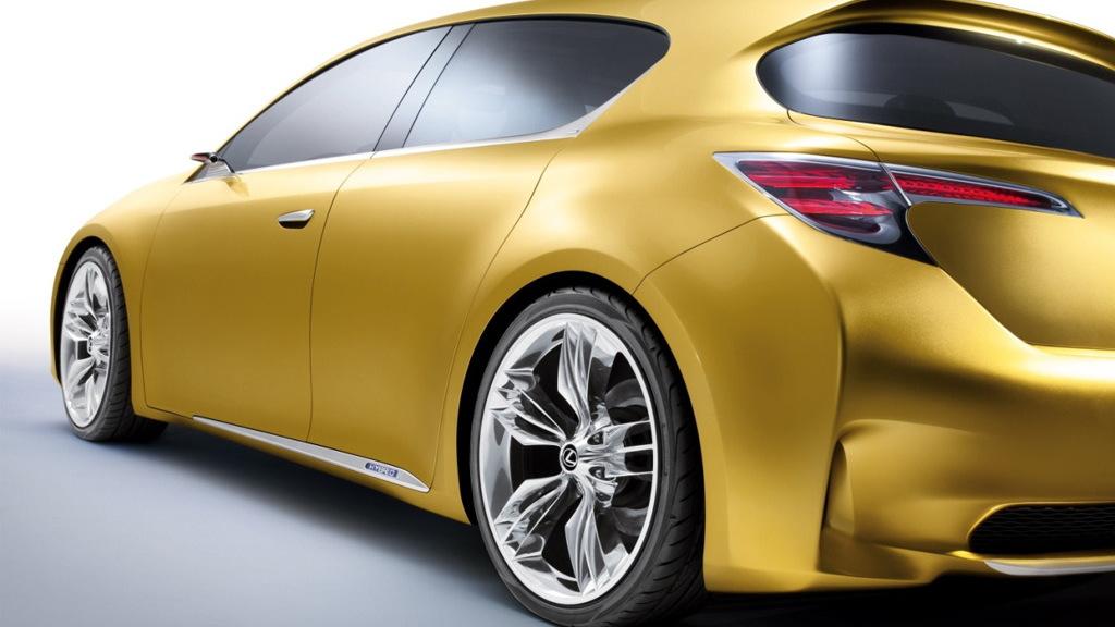 2009 Lexus LF-Ch Compact Hybrid Concept