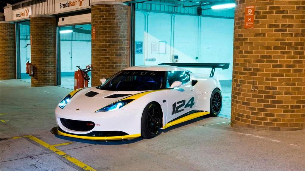 2010 Lotus Evora Type 124 Racecar