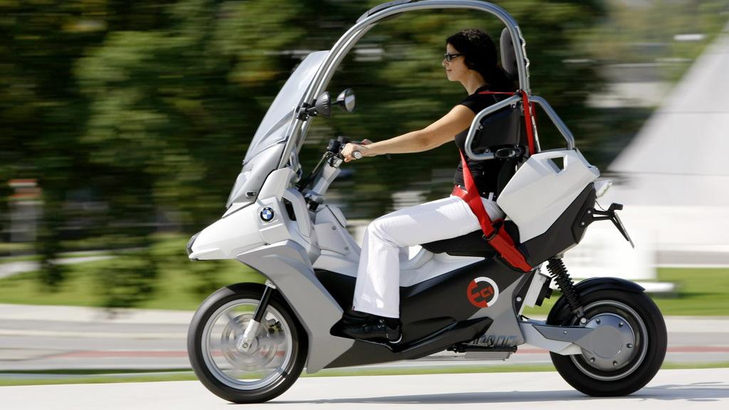2009 BMW C1-E Concept