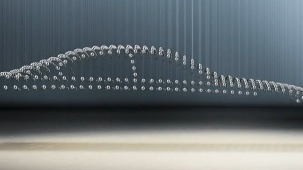 BMW 5-Series kinetic sculpture teaser