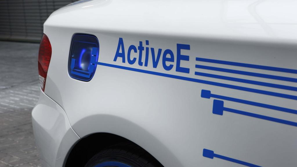 2009 BMW ActiveE Concept
