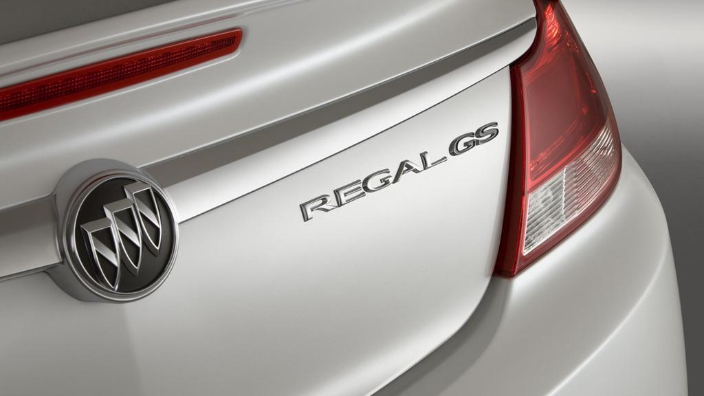 Buick Regal GS concept car