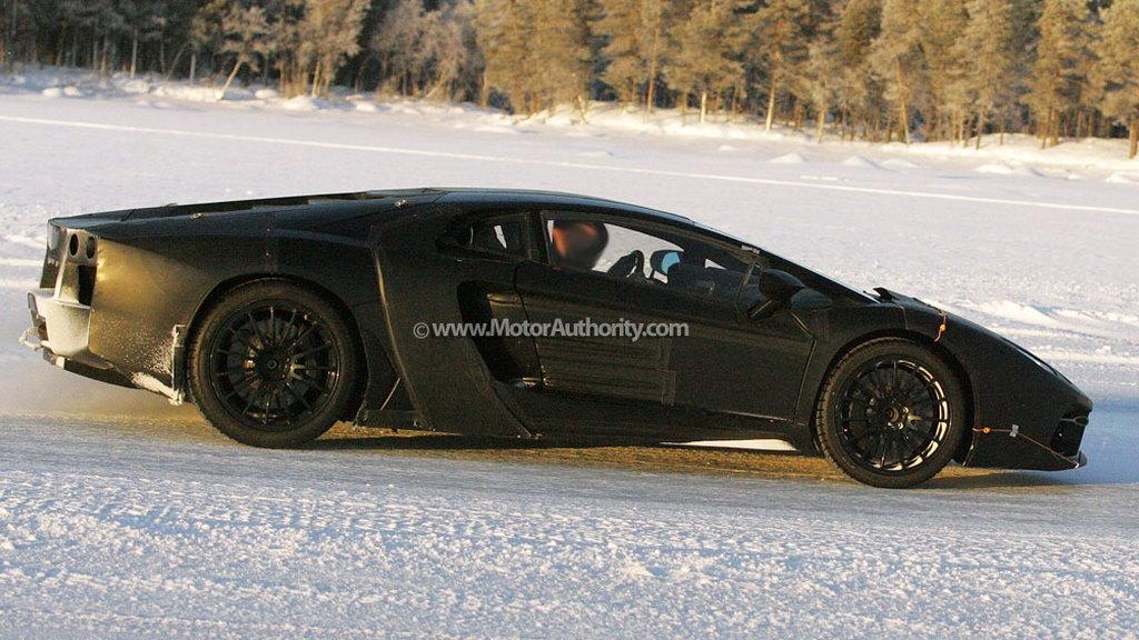 2012 Lamborghini Jota Murcielago replacement spy shots
