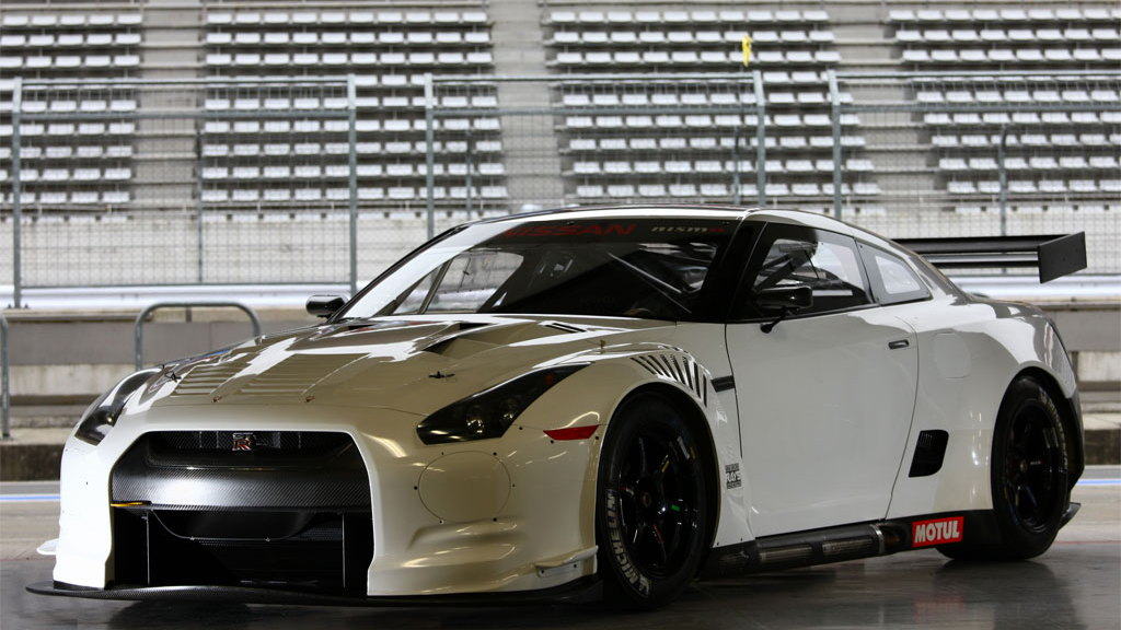 Nissan GT-R GT1 race car