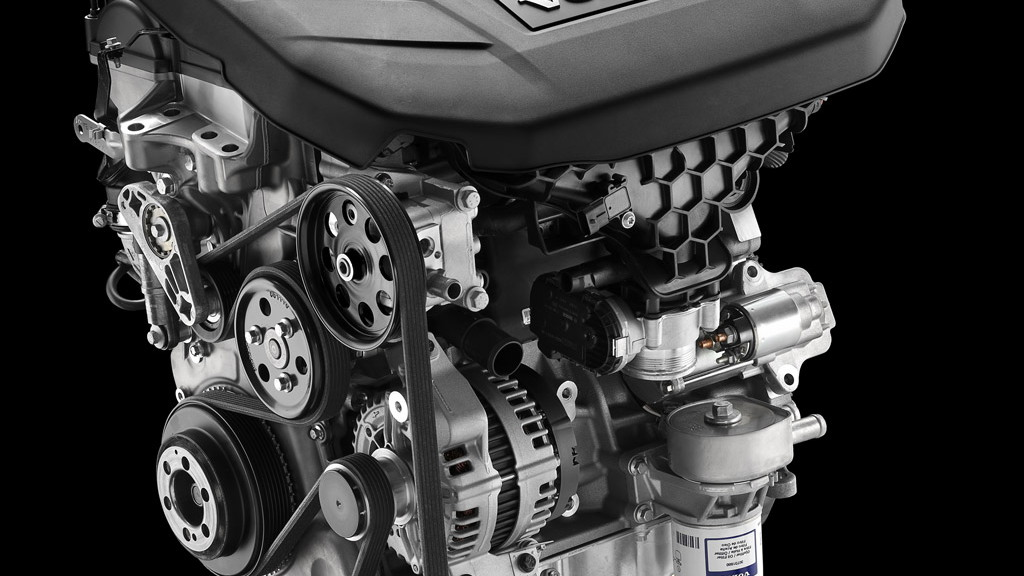 Volvo 2.0-liter GTDi engine