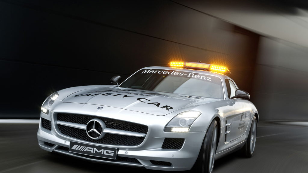 2010 Mercedes-Benz SLS AMG Official F1 Safety Car