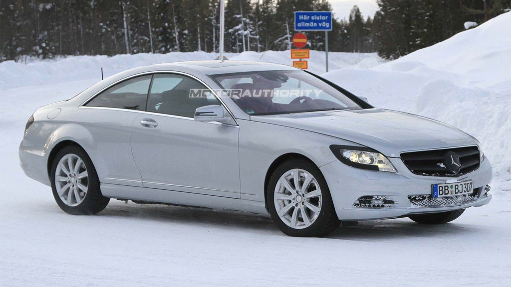 2011 Mercedes-Benz S-Class spy shots