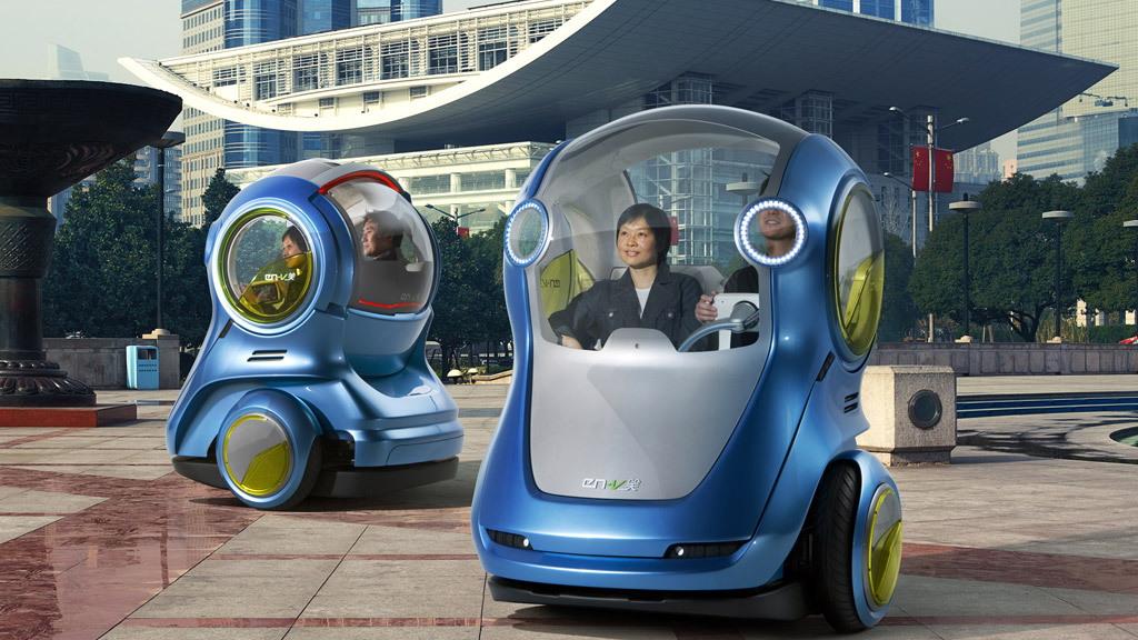2010 GM EV-V Concept