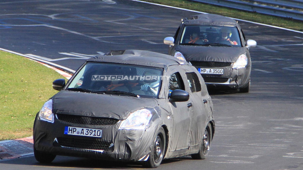 2011 Suzuki Swift spy shots