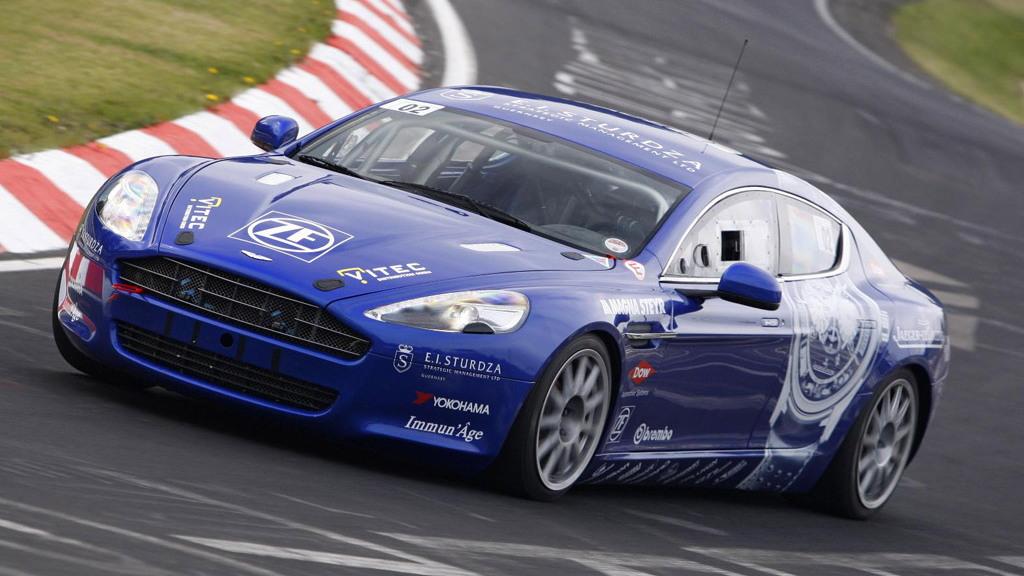 Aston Martin Rapide race car