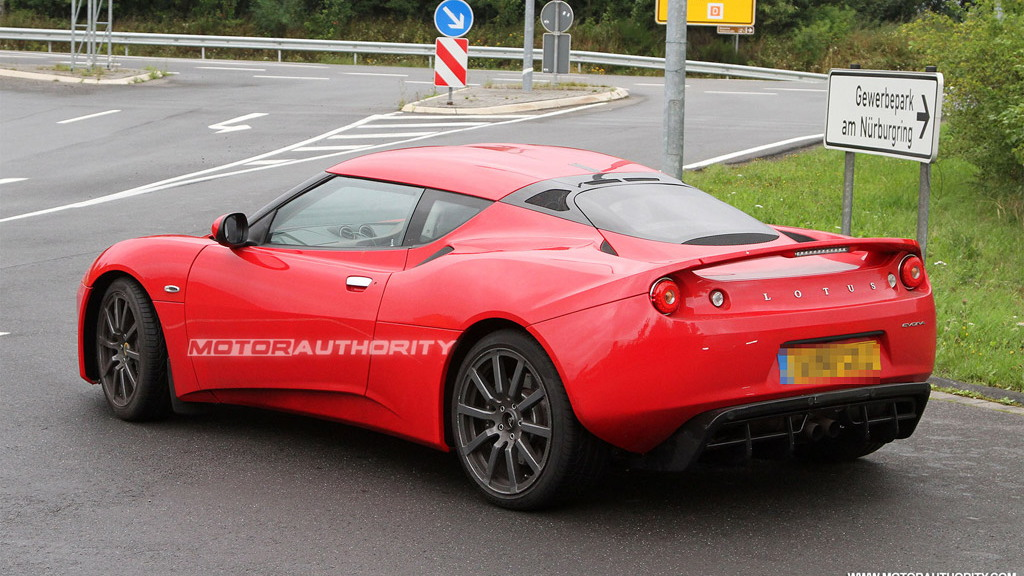 2011 Lotus Evora S spy shots