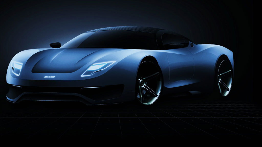 Izaro GTE supercar project
