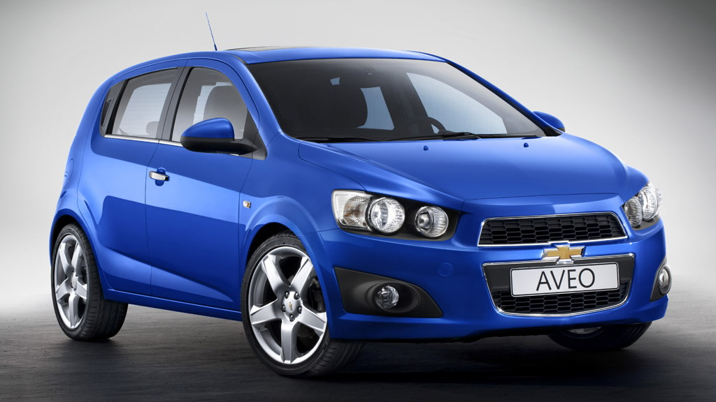2012 Chevrolet Aveo Hatchback
