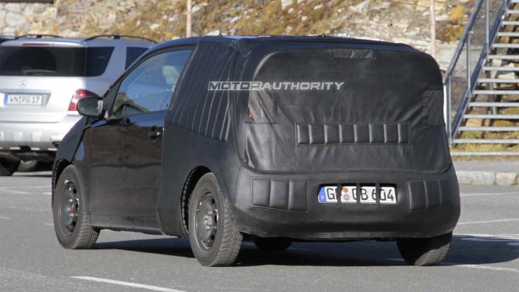 2012 Volkswagen Up! (Lupo) spy shots