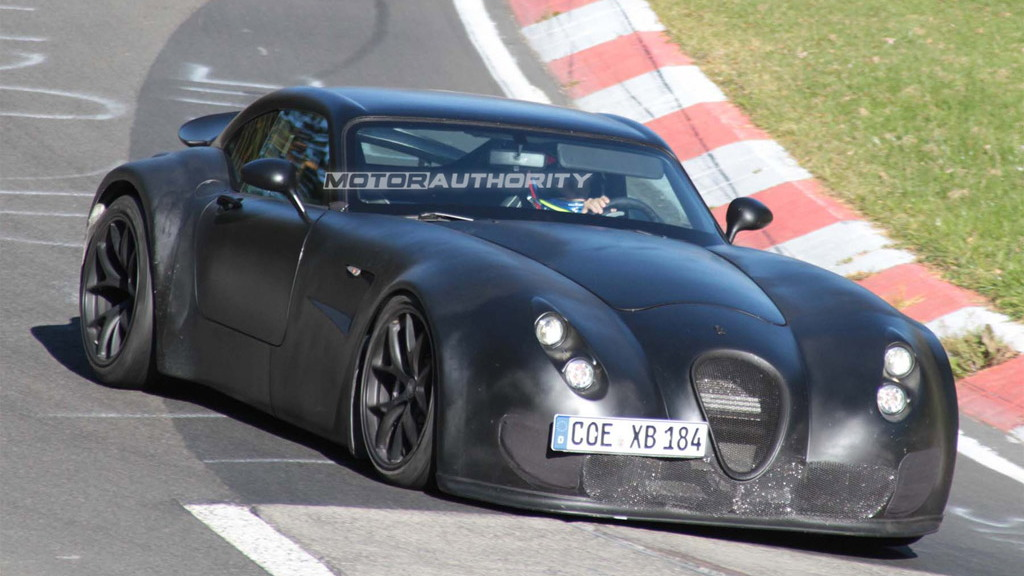 Wiesmann GT testing new twin-turbo BMW V-8