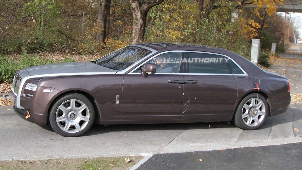 2012 Rolls-Royce Ghost Long Wheelbase spy shots