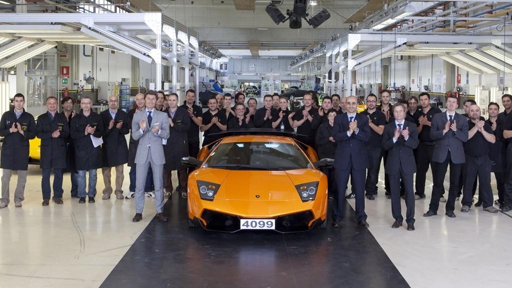 Lamborghini Murcielago number 4,099