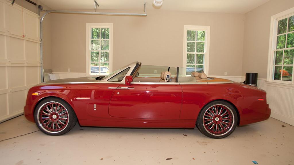 T-Pain's custom Rolls Royce Phantom Drophead Coupe
